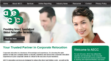 AECC website design